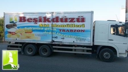 SERVİS ARACIMIZ YOLA ÇIKARKEN...